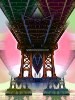 Manhattan Bridge Art Warhol 3